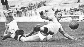 Piola in azione alla Lazio nel 1937