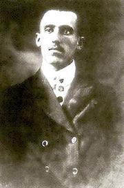 Radowitzky, a los 17 años