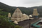 Simhachalam temple view from the rear side hillock.jpg