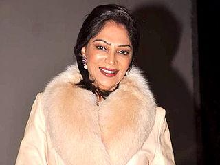 Simi Garewal Indian actress (born 1947)