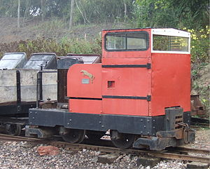 Motor Rail - Red Rum at Leighton Buzzard Narrow Gauge Railway