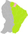 Sinnamary (Guyane) dans son Arrondissement.png