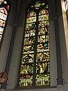 sint martinuskerk katwijk (cuijk) raam de verrijzenis van christus