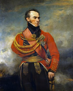 Edward Paget - Image: Sir Edward Paget by Martin Archer Shee 1810