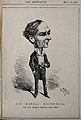 Sir Morrell Mackenzie. Wood engraving by (A. B.) 1888. Wellcome V0003749.jpg
