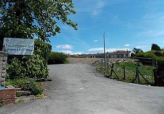 Aberbargoed Hospital - Site of the demolished hospital