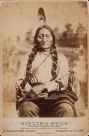 Sitting Bull by Goff, 1881