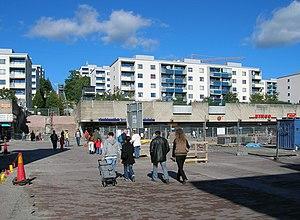 Skärholmen - Skärholmstorget, Skärholmen, Stockholm