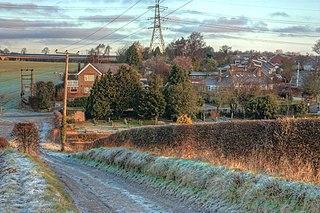 Skidby village in the United Kingdom