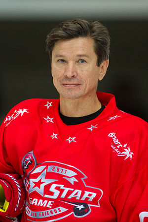 CIS men's national ice hockey team - Vyacheslav Bykov served as captain of the Unified Team.