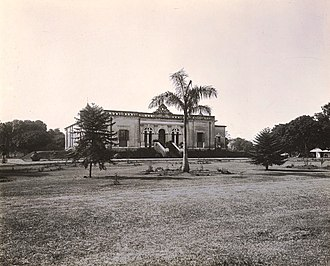 Bangabhaban - Manuk House in 1904, later became Governor's House in Bengal and present Bangabhaban