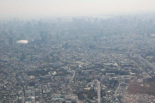 Smog v Tokiu