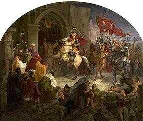 Entry of Boleslaus the Brave into Kiev.