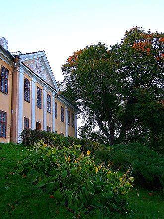 Ignacy Krasicki - Summer palace of the bishops of Warmia at Smolajny