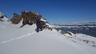 Snow Hill Island - Image: Snow Hill Island dike