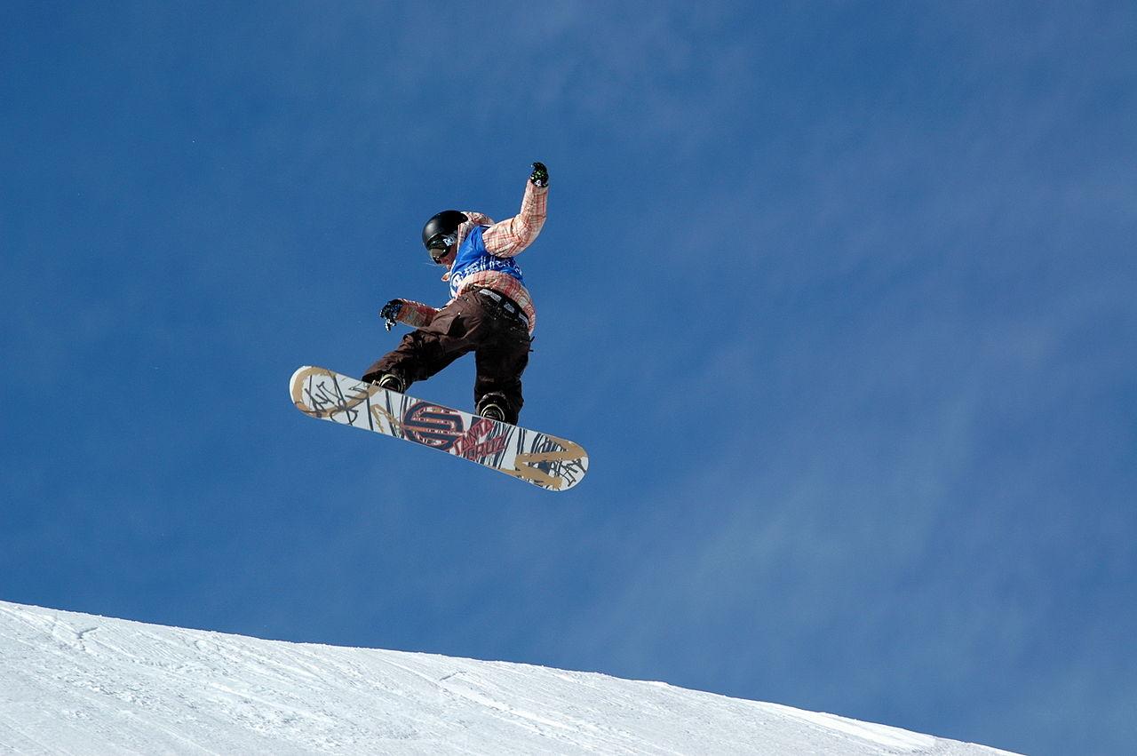 File snowboard silvia mitterm wikimedia commons - Costruire tavola da snowboard ...