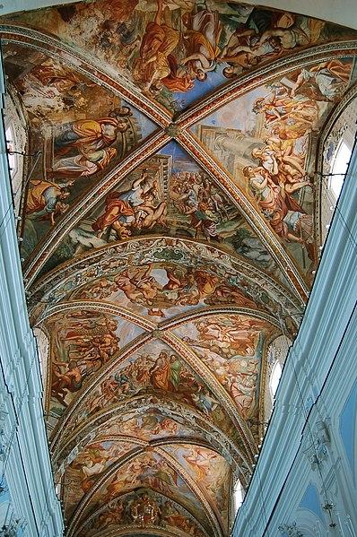File soffitto affrescato della cattedrale di for Soffitto della cattedrale di legno