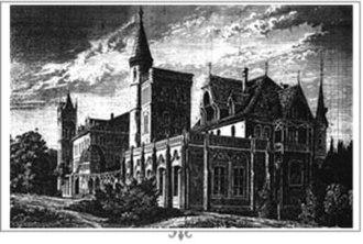 Sokołowsko - Brehmer's sanatorium, late 1870s