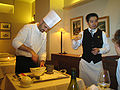 Sommelier working with chef on wine food pairing.jpg