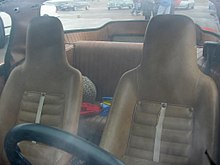 SAAB Sonett Mark II Equipped With A Rear Seat Making It 2