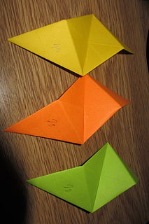 units used to build modular origami