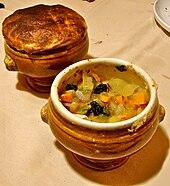 Cette soupe est créée le 25 février 1975 par le chef Paul Bocuse, pour un banquet organisé au Palais de l'Élysée par le chef d'état Valéry Giscard d'Estaing et son épouse Anne-Aymone, en l'honneur de sa décoration au titre d'ambassadeur de la cuisine française, au grade de Chevalier de la Légion d'Honneur