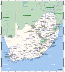Flüsse in südafrika