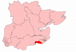 Southend (UK Parliament constituency) - Southend in Essex, 1918-50