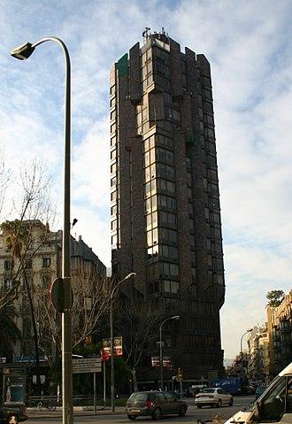 Plaça Urquinaona - Torre Urquinaona.