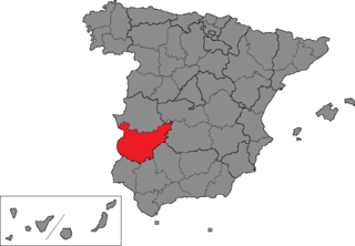 Badajoz (Congress of Deputies constituency) electoral district, Spain