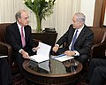 Special Envoy Mitchell Discusses Middle East Issues With Israeli Prime Minister Netanyahu (5041772530).jpg