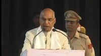 File:Speech by Shree Ram Nath Kovind, Governor of Bihar.webm