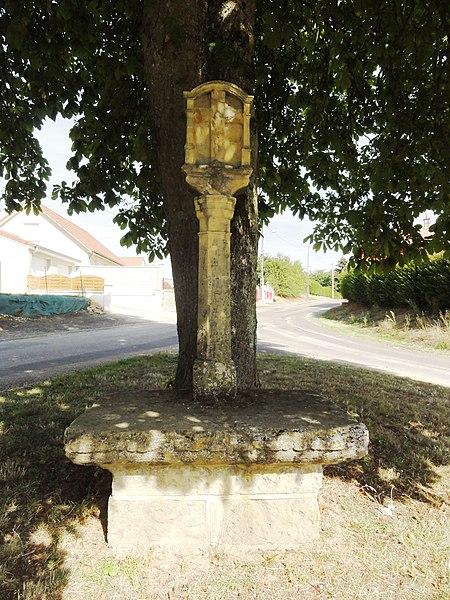Spincourt (Meuse) croix de chemin