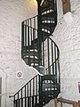 Spiral staircase in Carfax tower - geograph.org.uk - 1479941.jpg