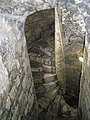 Spiral staircase to the top of Portchester Castle - geograph.org.uk - 1085784.jpg