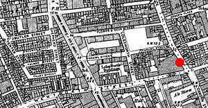 Spitalfields - Ordnance Survey map of Spitalfields rookery, 1894