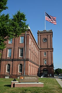 Springfield Armory center for the manufacture of U.S. military firearms from 1777 until its closing in 1968
