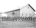 Spruce Division military band at camp, ca 1918 (KINSEY 761).jpeg