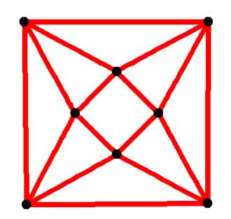 Antiprism - Image: Square antiprismatic graph