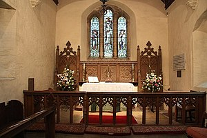 Thurlby, North Kesteven - St.Germain's chancel