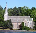 St. James' Episcopal Church from Skaneateles pier.jpg