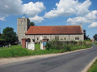 Houghton Saint Giles Human settlement in England