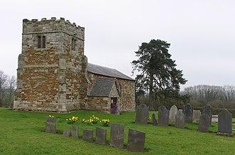 Little Stretton, Leicestershire - St Giles' Church, Great Stretton