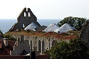 St Nicolaus kyrkoruin Visby Gotland
