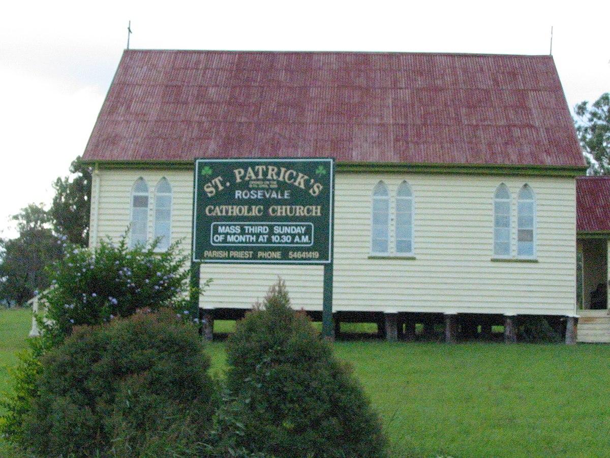 st patrick u0027s church rosevale wikipedia