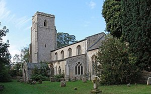 Hockwold cum Wilton - Image: St Peter's Church, Hockwold cum Wilton, Norfolk geograph.org.uk 1550959