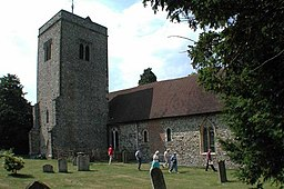 St Peter and St Paul, Trottiscliffe, Kent - geograph.org.uk - 322027.jpg