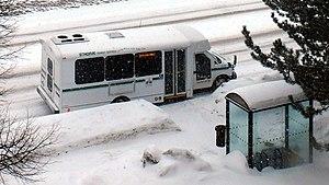 St. Thomas Transit - Image: St Thomas Transit bus stop widescreen clip