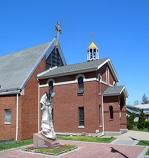 Ridgefield, New Jersey - Armenian Apostolic Church on Bergen Boulevard