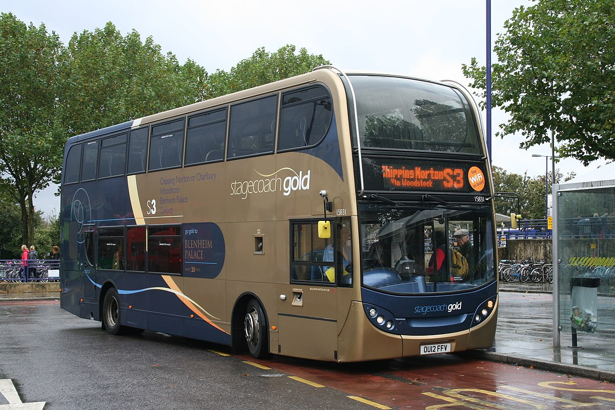Stagecoach Gold bus route S3 - Wikipedia